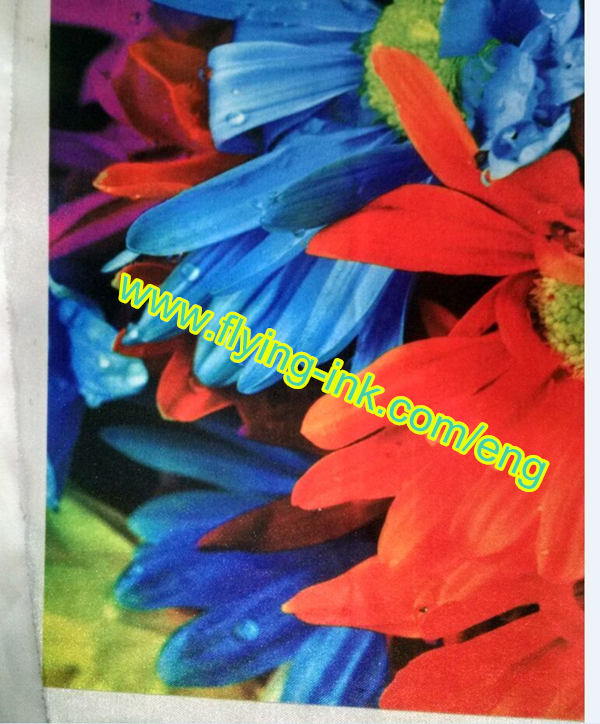Dye textile sublimation offset ink
