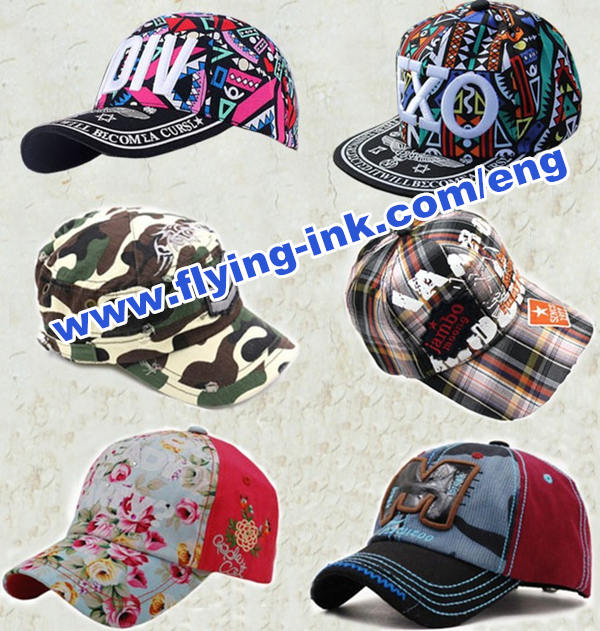 Hat use heat transfer printing dye ink