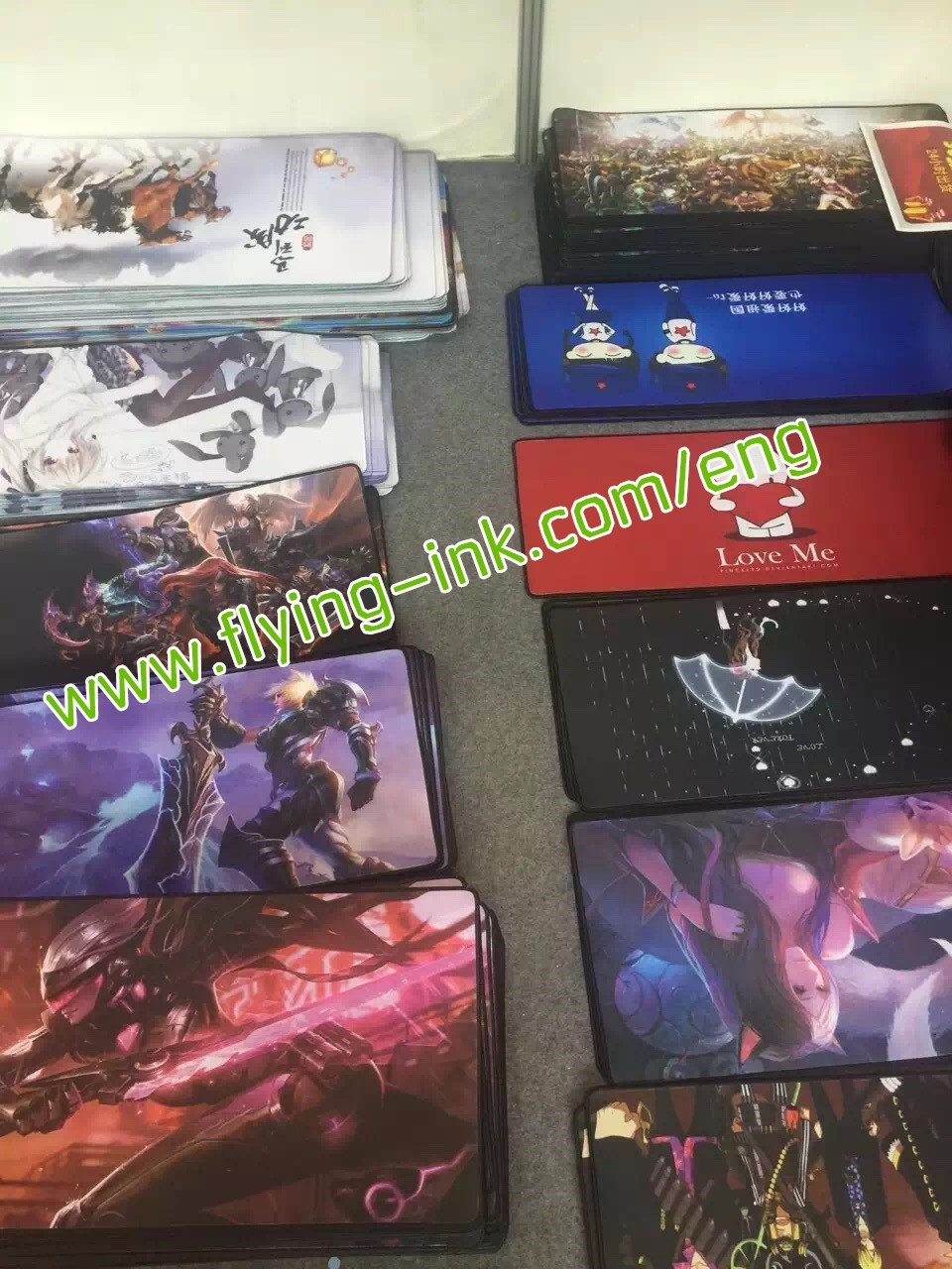 Big size sublimation mouse pad