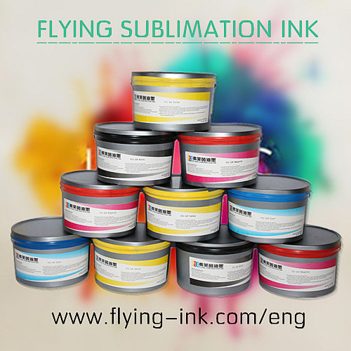 Sublimation offset transfer ink for polyester