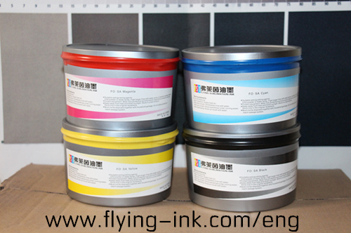 2017 newest sublimation lithographic transfer printing ink (FLYING FO-SA)