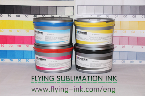 Swimwears and beach shorts are printed with sublimation offset printing ink