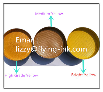 Bright yellow sublimation offset ink FLYING FO-GR